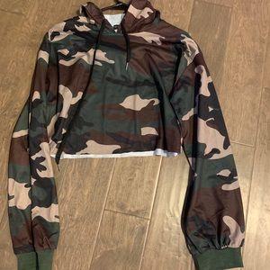 Zaful cropped hoodie